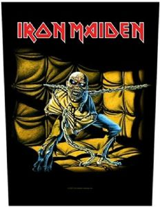 Iron Maiden Piece Of Mind jumbo sized sew-on cloth backpatch   (ro)